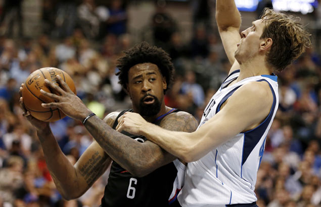 DeAndre Jordan has 23 and 20 as Clippers down Mavericks