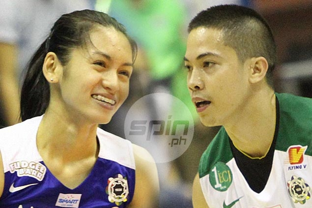 La Salle hero LA Revilla 'hibernates' on Twitter in bid to keep relationship with Lady Eagle Denden Lazaro low profile