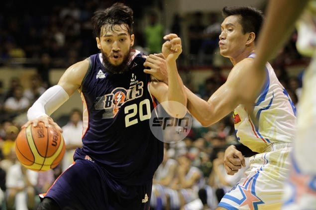 Jared Dillinger led the way for the inspired Bolts. Jerome Ascano