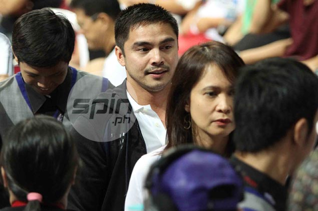 Actor Marvin Agustin was among the many celebrities who lined up to see the nationals in action. Jerome Ascano