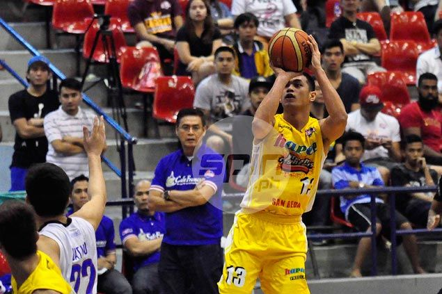 According to sources, incoming rookie Garvo Lanete is on the radar of new Ginebra coach Frankie Lim. Dante Peralta