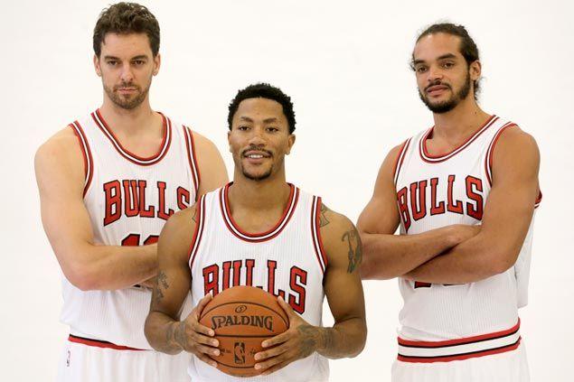 NBA -  Chicago, I Big-Three si presentano. D-Rose: