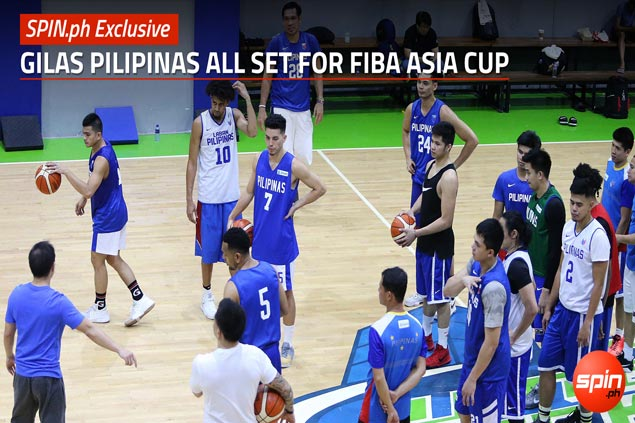 SPIN.ph Exclusive: Gilas Pilipinas all set for FIBA Asia Cup