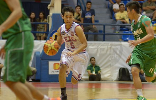 Ariel Aguilar has found his place in the EAC squad. Photo by Eldridge Balmaceda