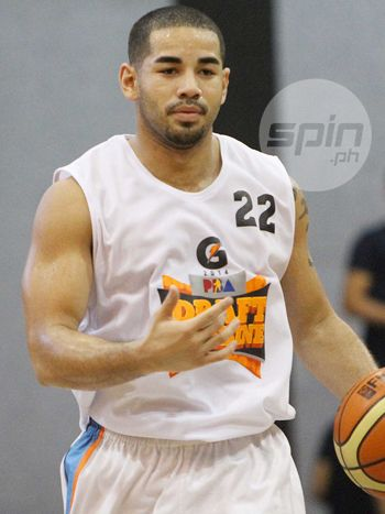 Brian Heruela caught the eye of coaches in the draft camp. Photo by Jerome Ascano
