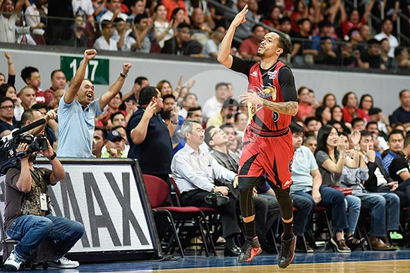 Game 7 of the 2016 PBA Philippine Cup Finals was historic for Chris Ross in more ways than one