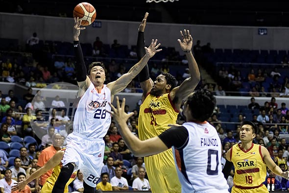 Gary David was the second-best local scorer in last year's Commissioner's Cup