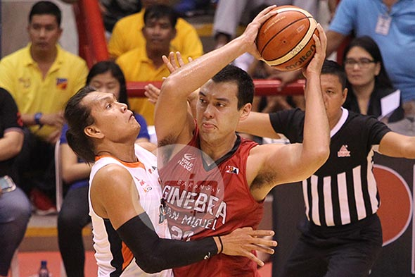 Greg Slaughter has steadily improved under coach Tim Cone