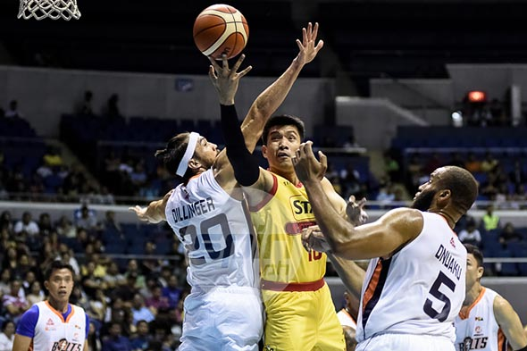 James Yap struggled anew in Star's debut in this year's Commissioner's Cup