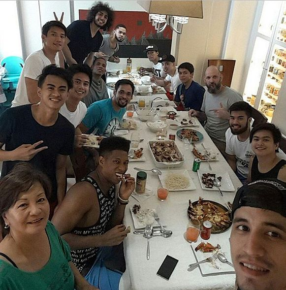 Marc Pingris has hosted get togethers at home in the hope of strengthening the team bond amid the struggles in the PBA Governors Cup. Photo from James Yap's Instagram account