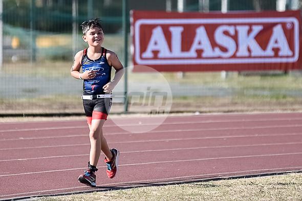 John Paul Guidicelli compete in the Alaska Ironkids. Jaime Campos
