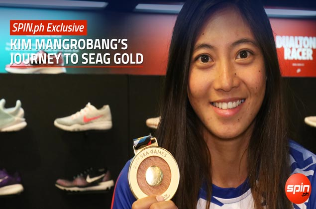 SPIN.ph Exclusive: Kim Mangrobang's journey to SEAG gold