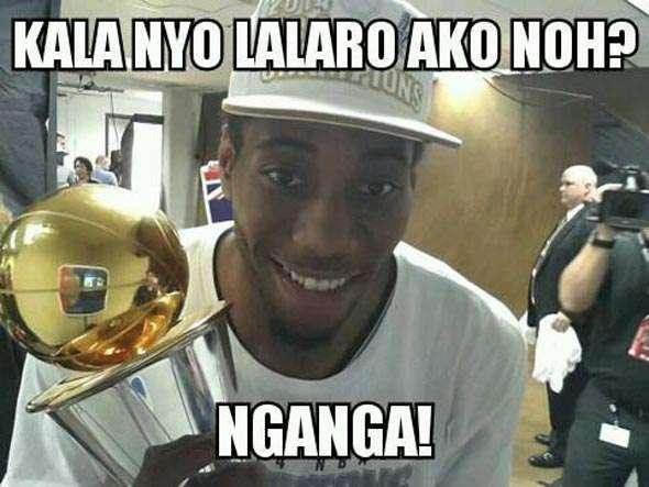 Even the Spurs' soft-spoken Kawhi Leonard was not spared.