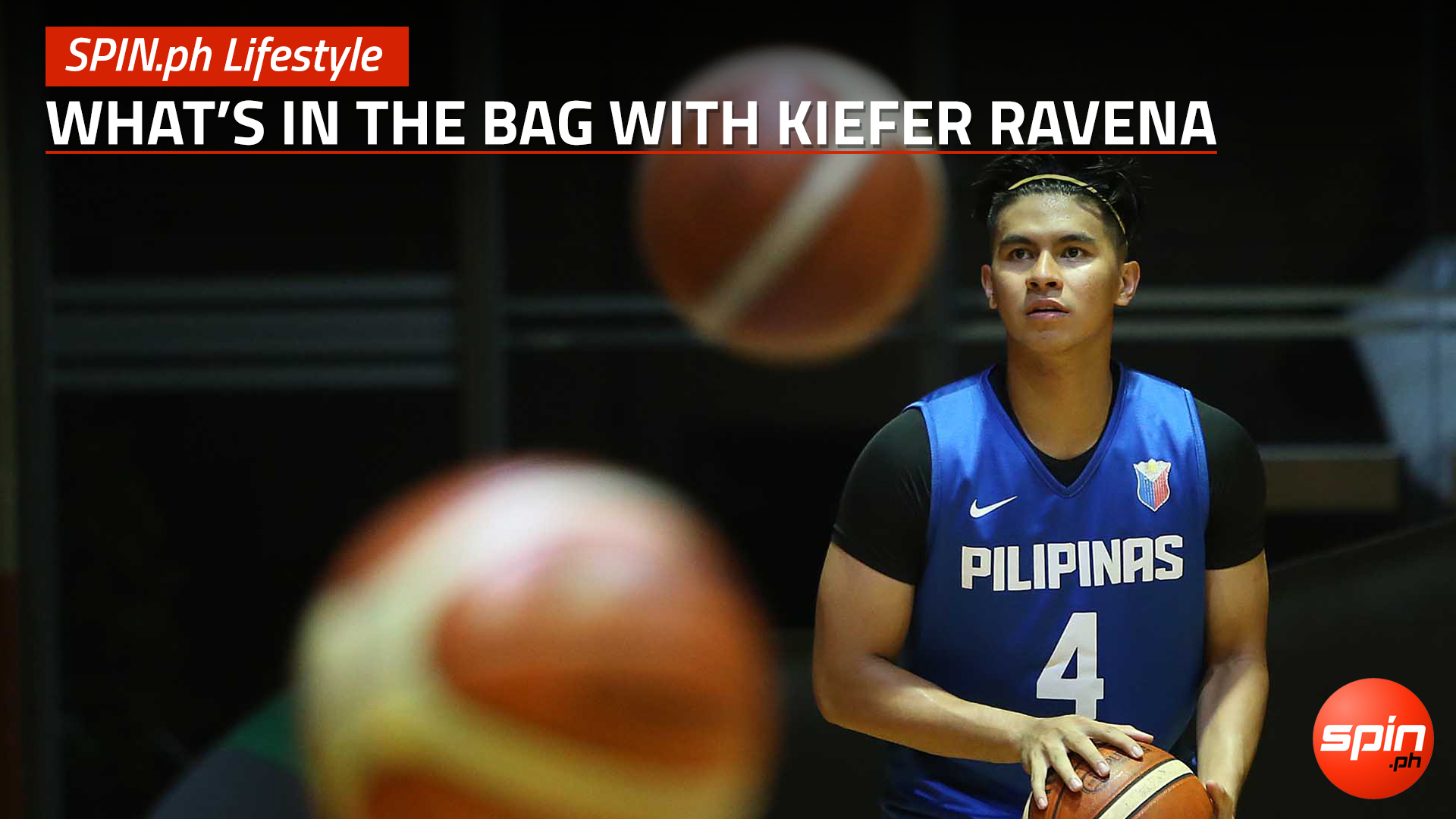 SPIN.ph Lifestyle: What's in the bag with Kiefer Ravena