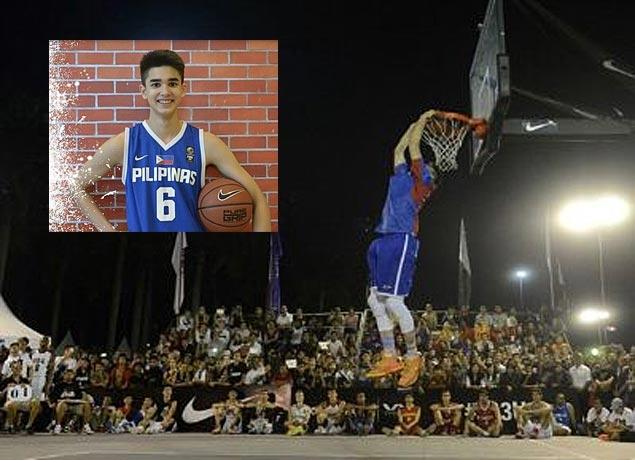 Kobe Paras rules dunk contest inFiba 3x3 U18 Championship