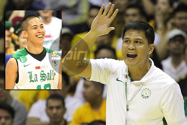 Revilla's early departure a challenge to young La Salle guards