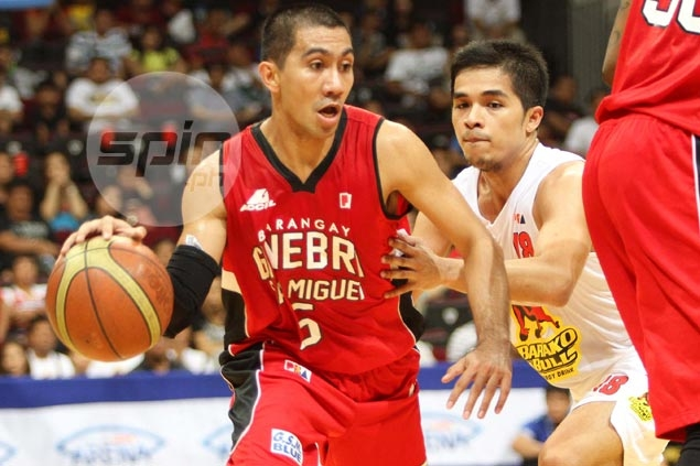 LA Tenorio back to his best as Ginebra deals Barako Bull a PBA hammering