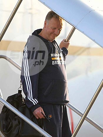 Pacers president Larry Bird. Photo by Jerome Ascano