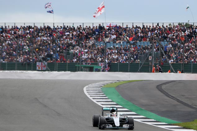 F1 2016: Hamilton on pole, Rosberg second at British GP qualifying