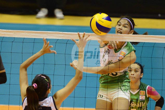 Mary Joy Baron shines as La Salle Lady Spikers make short work of