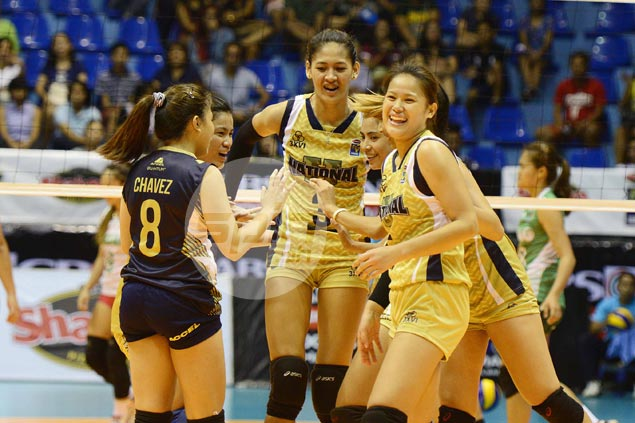 Retooled NU Lady Bulldogs edge Laoag in four sets in V-League Open debut