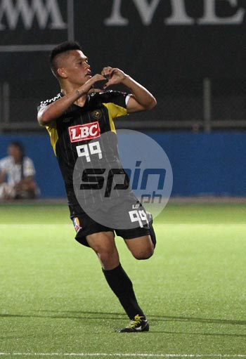 OJ Porteria is not in the lineup of important international matches. Photo by Jerome Ascano