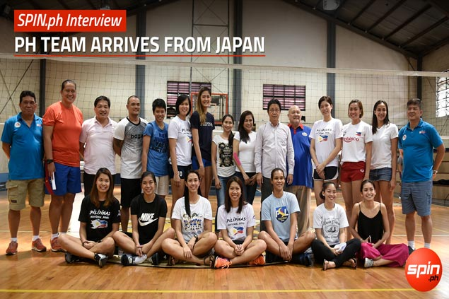 SPIN.ph Interview: PH Team arrives from Japan