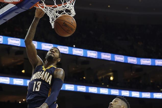 to victory as Paul George drops 34 on winless 76ers | NBA | SPIN.PH
