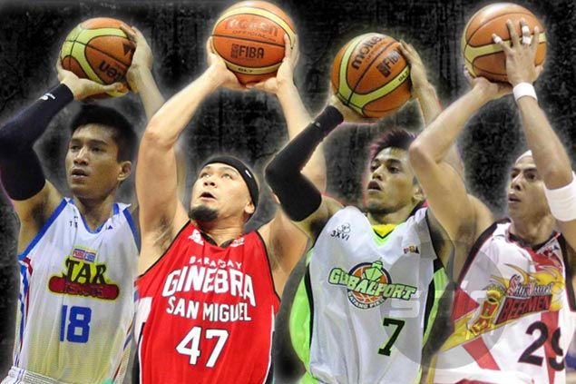 Ball hog ba s'ya? See list of PBA players who took most number of shots last season