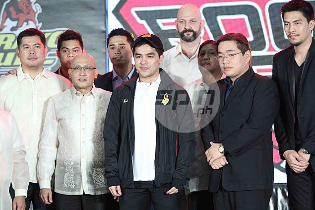 Former UST playmaker and San Miguel Beermen guard Jeric Fortuna is