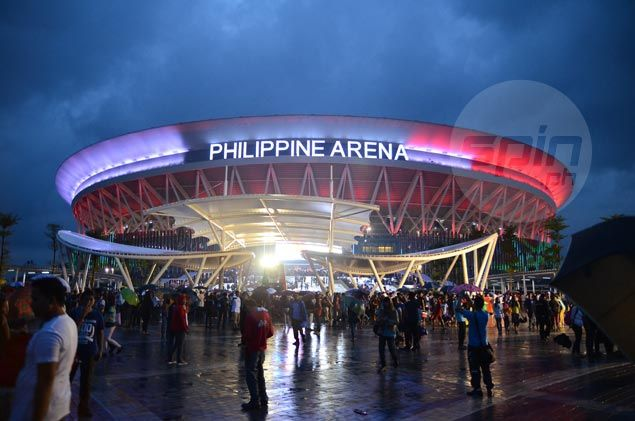 Philippine Arena Inside Basketball to Philippine Arena For