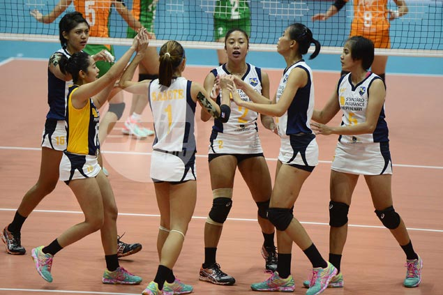 Navy scores first victory and keeps Amy's winless in Super Liga All Filipino