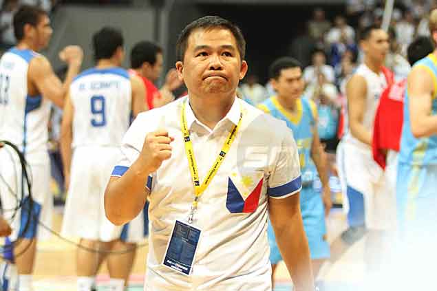 Gilas Pilipinas and coach Chot Reyes shift focus to old rival South Korea as they gear up for the semifinals. Jerome Ascano