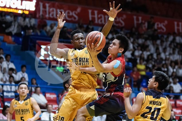 Letran Knights back on track with narrow win over JRU Bombers
