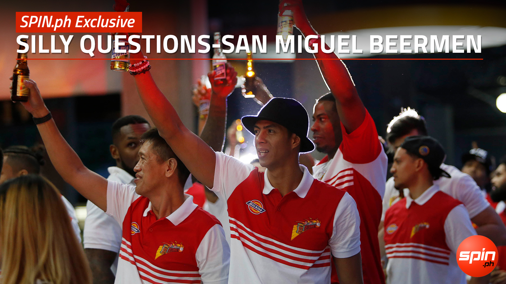 SPIN.ph Exclusive: Silly Questions - San Miguel Beermen