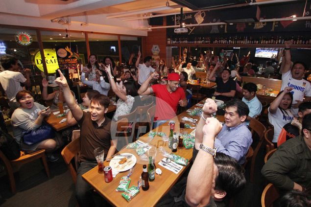 Happy faces in Spin.ph viewing parties as Gilas pulls off improbable ...