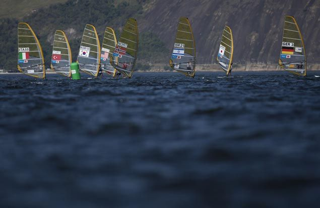 US Olympic sailor loses parts of three fingers as catamaran capsizes during training