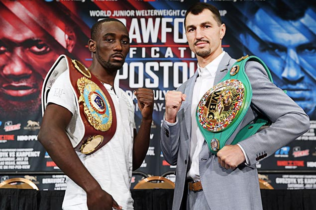 Terence Crawford-Viktor Postol winner to get inside track on Pacquiao dream match
