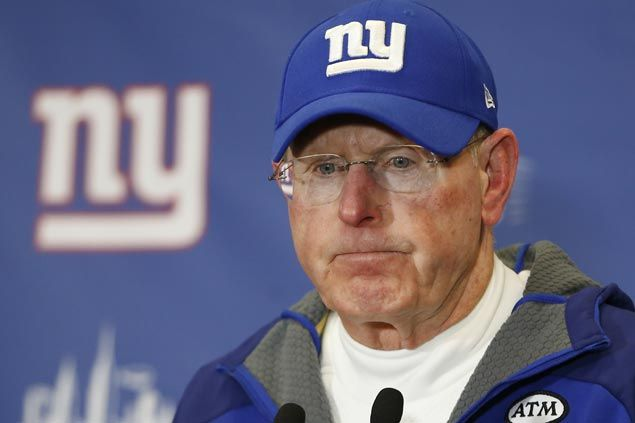 Eagles spoil Coughlin's possible last game with Giants