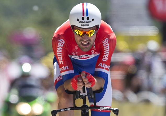 Giro champ Tom Dumoulin beats Primoz Roglic, Chris Froome for time trial world title