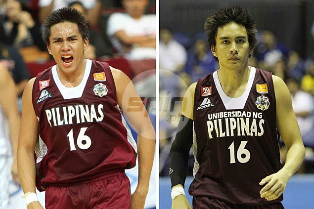 Sam Marata and the rest of the UP Maroons wore uniforms that had the