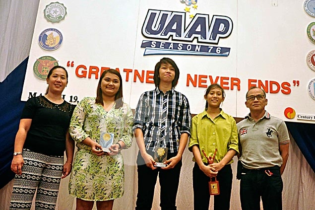 Woman Fide Master Fronda, Perlas Pilipinas star Sambile named UAAP Athletes of the Year