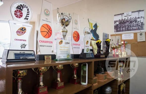 Trophies won by Xavier teams in various competitions are a testament to the school teams' phenomenal success. Photo by Jaime Campos