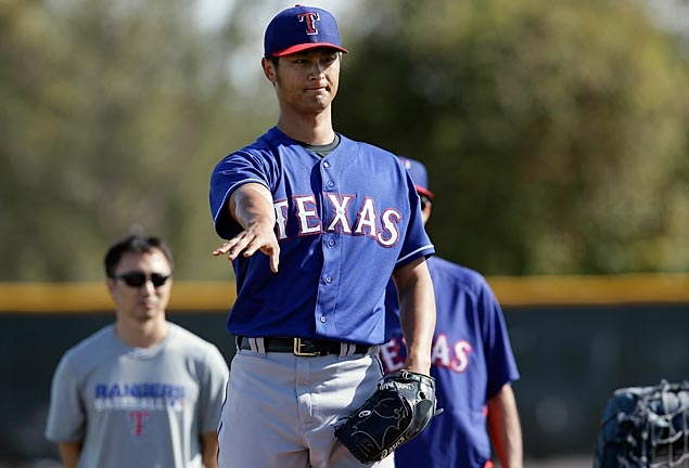 Darvish makes comment about Tanaka's huge contract, then backs off