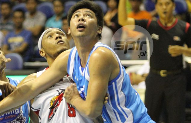 Ian Sangalang was acquired by San Mig (now Star) through a draft pick it acquired from Barako Bull. Jerome Ascano