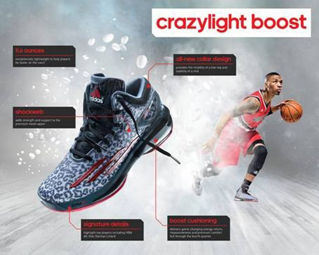 promo code bf09a dff49 adidas takes game-changing Boost technology to basketball with D Rose 5,  all-new Crazylight