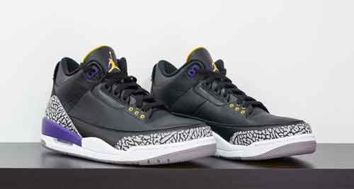 Air Jordan 3 from Kobe Bryant's Black Collection