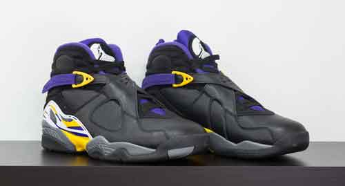 Air Jordan 8 from Kobe Bryant's Black Collection