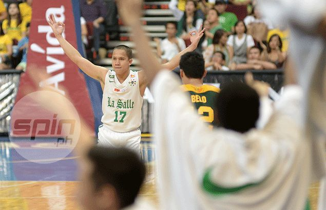Almond Vosotros is one of four former Green Archers who made it to the PBA ranks this season. Jaime Campos