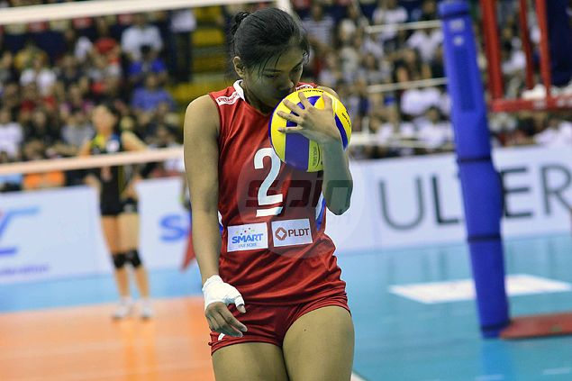 Alyssa Valdez has made quite an impression while playing against the best in Asia. Freddie Dionisio